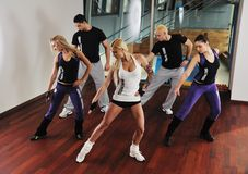 Fitness group Stock Photo