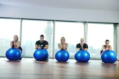 Fitness group Stock Photography