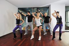 Fitness group Stock Photos