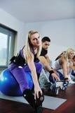 Fitness group Stock Photos