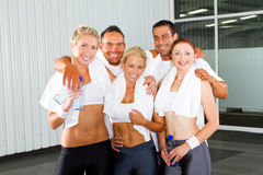 Fitness group people Royalty Free Stock Photo