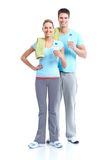 Fitness and gym. Royalty Free Stock Image