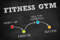 Fitness Gym Royalty Free Stock Image