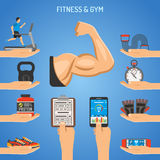 Fitness and Gym Concept Stock Photo
