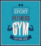 Fitness gym design. Stock Images
