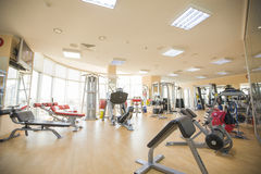 Fitness  gym Royalty Free Stock Photo