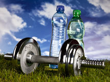 Fitness, gym, healthly lifestyle Stock Images