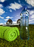 Fitness, gym, healthly lifestyle Stock Photo