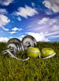 Fitness, gym, healthly lifestyle Stock Photos
