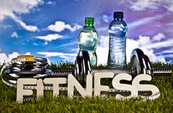 Fitness, gym, healthly lifestyle Stock Image