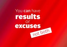 Fitness and gym motivation quote. For your better workout and minds royalty free illustration