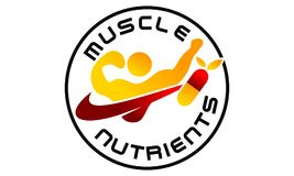 Fitness Gym Nutrition. Logo Design Template Vector Royalty Free Stock Image
