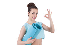 Fitness and gym Stock Photo