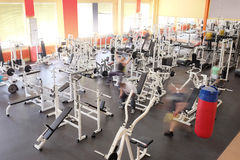 Fitness hall Royalty Free Stock Image