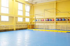 Fitness hall Royalty Free Stock Photography