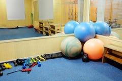 Fitness hall Stock Photo