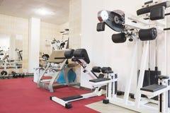 Fitness hall Royalty Free Stock Photos