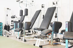Fitness hall Stock Photography