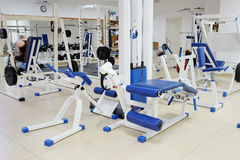 Fitness hall Stock Images