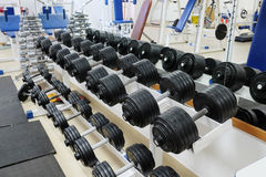 Fitness hall Royalty Free Stock Images