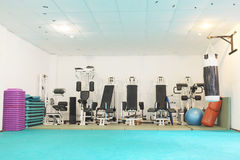 Fitness hall Royalty Free Stock Photo