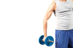 Fitness header Royalty Free Stock Photos