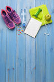 Fitness healthy concept Royalty Free Stock Image