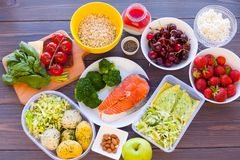 Fitness healthy food royalty free stock image