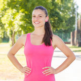Fitness Healthy Lifestyle Female Royalty Free Stock Images