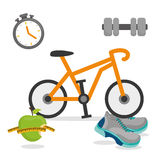 Fitness and healthy lifestyle Stock Photography