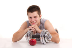 Fitness and healthy living Stock Image