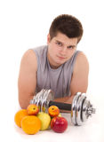 Fitness and healthy living Royalty Free Stock Image
