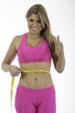 Fitness: Healthy Measurement stock photography