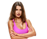 Fitness and healthy young lady Stock Photography