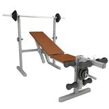 Fitness home gym Stock Images