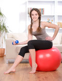 Fitness Home Stock Image