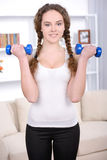 Fitness Home Royalty Free Stock Photo