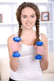 Fitness Home Royalty Free Stock Photography