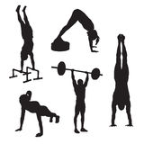 Fitness Icons 3 Stock Photography