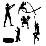 Fitness Icons 4 Royalty Free Stock Image