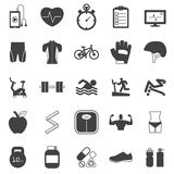 Fitness Icons set. Fitness ,Icons, set ,vector,EPS10 Stock Photography