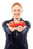 Fitness instructor Royalty Free Stock Image