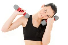 Fitness instructor Royalty Free Stock Photos