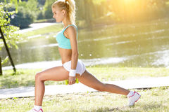 Fitness instructor Royalty Free Stock Photo
