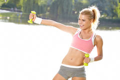 Fitness instructor Royalty Free Stock Images
