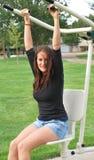 Fitness instructor. Stock Photos