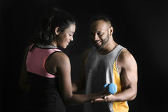 Fitness instructor. Royalty Free Stock Images