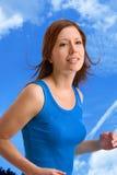 fitness jogging fizycznej Fotografia Royalty Free
