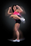 Fitness Kick Boxer Royalty Free Stock Images