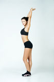 Fitness lady Royalty Free Stock Images